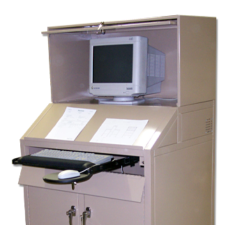 Industrial Computer Workstation from Built-Rite