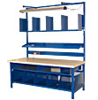 Industrial Packing Benches from Built-Rite